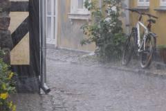 Det regner hund og kat, Ærø, 24.07.2009