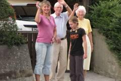 Noget af den fynske familie på Nyborgvej 73, 25.07.2009
