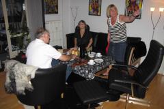 Svend, Annette og Marie- Louise på Norsvej, 25.07.2009