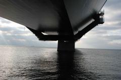Under Storebæltsbroen, 24.10.2007