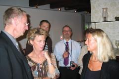 Reception i Trørød, 12.10.2005
