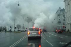 Røg ved søerne på Frbr., 22.11.2009