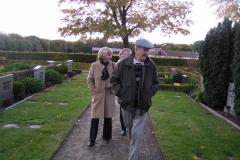 Sture, Marie- Louise og Sally i Sct. Olof, 16.10.2003