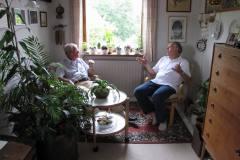 Svoger Svend og Gudfar Carl Ewald, 25.07.2009