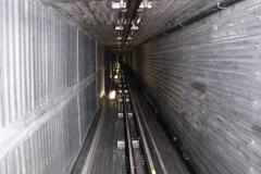 Jacks tilsyn i 60 meter høj elevatorskakt på Færøerne
