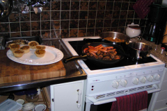 Travlt i Irenes køkken