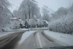 Vinteridyl i Aagaard tæt ved Leif, 16.12.2009
