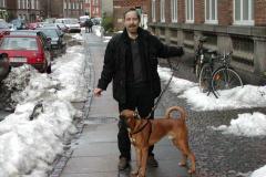 Jack og Tyson på Norsvej, 12.01.2003