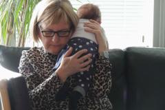 Marie- Louise og barnebarn, 30.12.2018