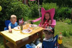 Alexander, Emma og Lucas, 21.05.2009