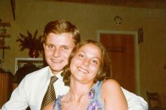 Annica og Anders i 70érne