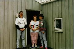 Vesterhavet, Mor Annie og kusine Janne, april 1989