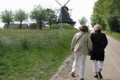 Arlöv Mølle Marie- Louise og mor Sally, 13.06.2009