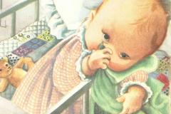 Dockan Lillan,  Marie- Louises yndling som barn