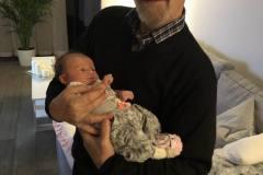 Farfar og barnebarn, 23.11.2018
