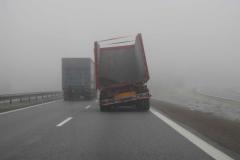 Set på motorvejen, 21.01.2011