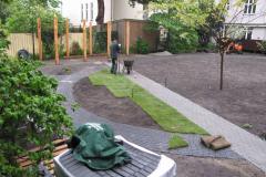 Nyt rullegræs på Frbr., 06.05.2009