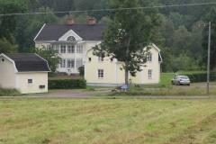 Indkvartering for Carsten, James og Jack på bukkejagt i Sverige, 18.08.2012