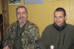 Jack og Allan hos Johannes, 17.10.2009