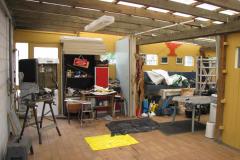 Johannes garage i Benløse har set rigtigt mange stykker råvildt, 16.07.2009